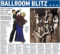 Bolton News article featuring First Dance UK