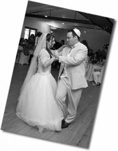One of our wedding dance lesson couples